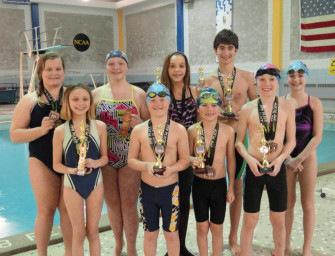 Clarion County YMCA Riversharks Swim Team Competes At CEN-KEY Championships (02/21/14)