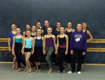 Dancer's Studio dancers will perform in Kat Wildish Showcase, in New York City (02/04/14)