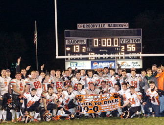 Bobcat Football Team Finishes Regular Season Undefeated, 10-0 After Victory Over Raiders (11/03/13)