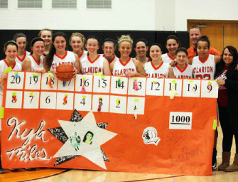 Kyla Miles Gets 1000th Career Point, In Lady Cats Win (01/21/13)