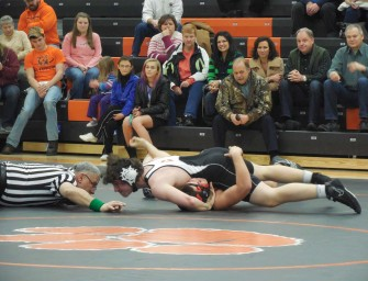 Bobcat Junior High Wrestlers Move To 5-1 With Victory Over Redbank Valley (02/08/14)