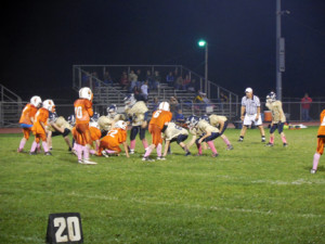 Lions on offense