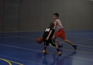 (Photo by Kenn Staub) Nate Datko dribbles around a defender