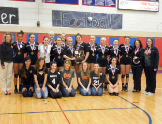 Lady Cats Win 4th Straight D-9 Class A Volleyball Title (11/04/13)