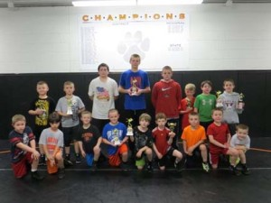 (Photo provided by Clarion Elementary Wrestling)
