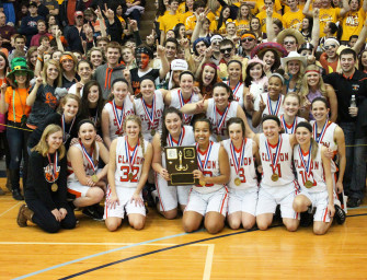 Lady Cats Win Second Straight District Nine Class-A Basketball Title (03/02/14)
