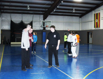 Civil Air Patrol Participates In YMCA's Tang Soo Do Self Defense Clinic (03/06/14)