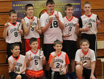 Clarion Wins Karns City 6th Grade Basketball Tournament (03/03/14)
