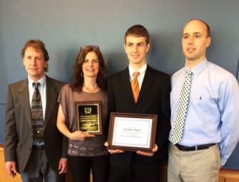 Antonio Troese Given Prestigious Scholar Athlete Recognition (03/28/14)