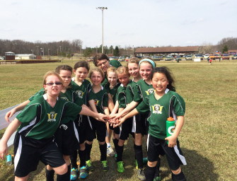 Clarion River Valley Strikers Girls Victorious In First Game (04/18/14)