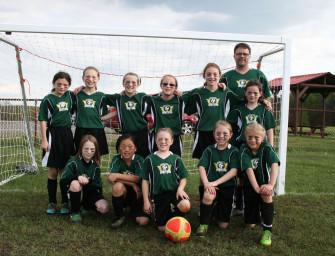 Clarion River Valley Strikers U-10 Girls Overpower Greenville (05/23/14)