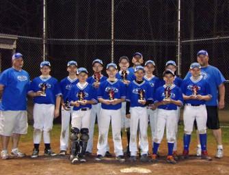 Clarion's B&W Smith Wins The 8th Annual Meadville Mayhem Classic 12u Baseball Tournament (05/13/14)