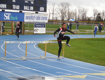 Clarion Sweeps Union In Track And Field (05/01/14)