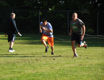 Bobcat Football Team Participating In F.A.S.T. Drills (06/06/14)