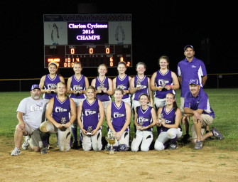 Clarion Cyclones Are 2014 USSSA Western PA State Champs!!!! (06/29/14)