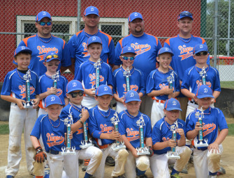 Clarion Dugout Goes Undefeated To Win Punxsutawney Groundhog 8-Under Tournament (07/09/14)
