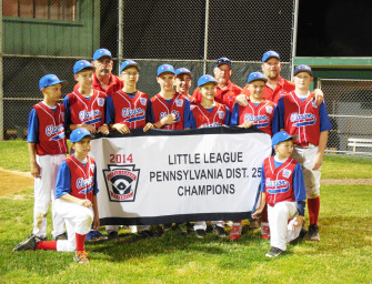 Clarion 11-12 Year Olds Win District 25 Little League Baseball Title (07/10/14)
