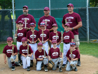 Burford & Henry Claims 1st Place In 2014 Clarion Minor League Playoffs (07/28/14)