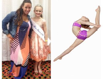 Dancer's Studio's Abbey Barron Represents Pennsylvania in Petite Miss Dance Of America (07/02/14)