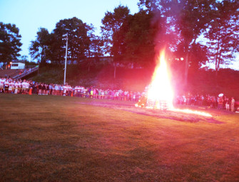 """CHS 2014 Fall Sports Season """"Officially"""" Begins With Bonfire (08/30/14)"""