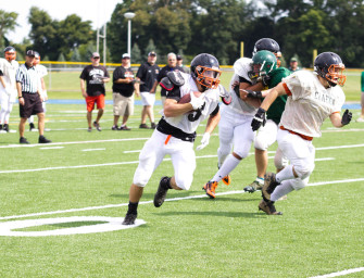 Bobcat Football Team Very Impressive In First Scrimmage (08/17/14)