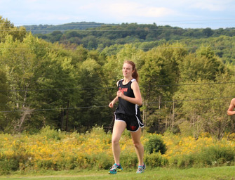 Clarion And Moniteau Split In Cross Country Dual Meet Action (09/09/14)