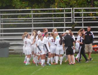 Lady Cats Soccer Team Downs Keystone (09/13/14)