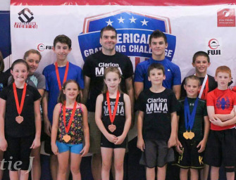Clarion MMA Youth Team Competes At The AGC Tournament In New Kensington (09/10/14)