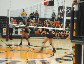Lady Cats Volleyball Team Downs Forest Area (09/16/14)
