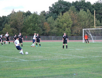 Clarion-Limestone Boys Soccer Loses In Overtime (09/22/14)