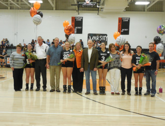 Lady Cats Volleyball Team Celebrates Senior Night With Win Over Karns City (10/15/14)