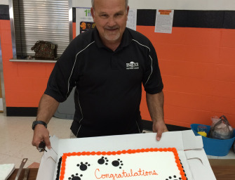 Football Boosters Honor Coach Wiser And Cats (10/05/14)