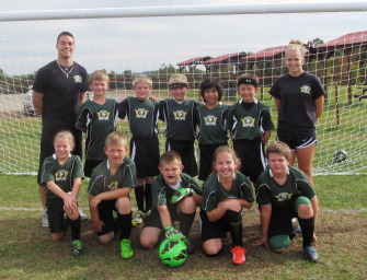 CRVS Strikers U-10 Green Team Downs Kinzua 9-2 (10/23/14)