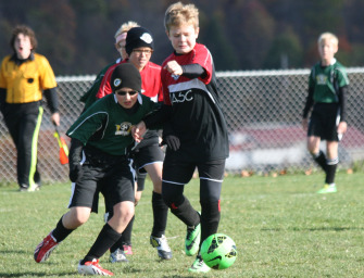 Clarion River Valley Strikers U-12 Green Team Finishes Perfect Season Against Meadville (10/23/14)