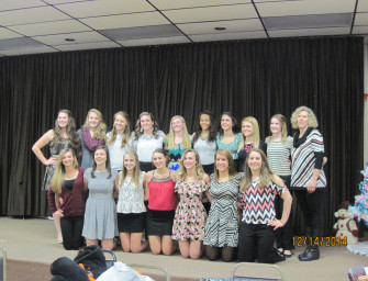 Volleyball Team Holds Banquet (12/24/14)