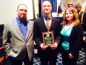 Jacob Troutman Is Clarion Area HS 2015 National Football Foundation And College Hall Of Fame  Honoree (03/24/15)