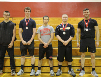 Powerlifting Tournament Held At Redbank Valley (04/26/15)