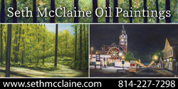Seth McClaine Oil Paintings