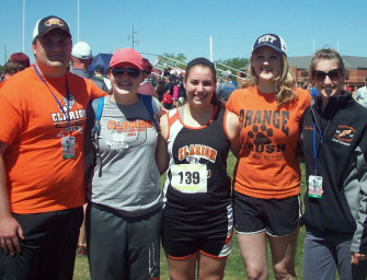 Three Top Ten Finishes For Bobcats At State Track And Field Meet (05/25/15)