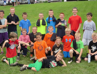 Clarion Area Football Elementary Football Camp Teaches Fundamentals To Youth (06/25/15)
