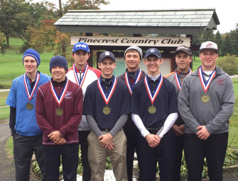 Jared Bish Places Second In District Nine Golf Tournament, Moves On To Regional (10/06/15)