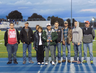 Bobcat Football Program Honors Long-Time Contributor In Pre-Game Ceremony (10/19/15)
