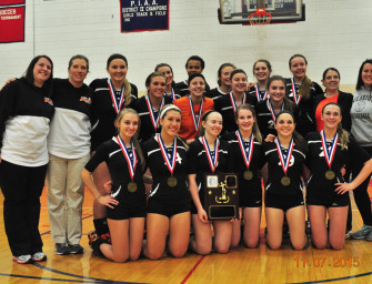 Lady Cats Win Sixth Straight District Nine Class-A Volleyball Title (11/08/15)