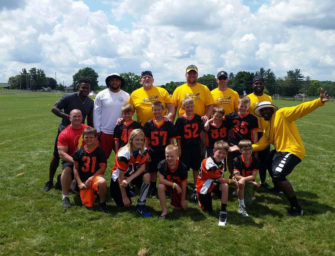 Forest-North Clarion Coyotes Learn From Pittsburgh Steelers (06/28/16)