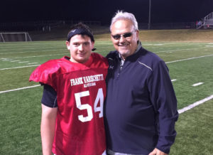 Will with Clarion Head Coach Larry Wiser
