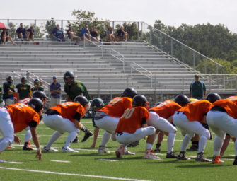 Bobcat Gridders Do Well In First Scrimmage (08/21/16)