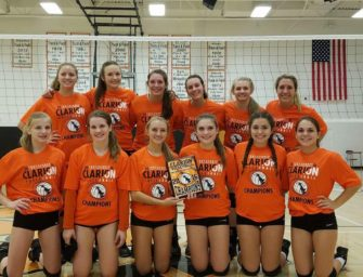 Lady Cats Win 16th Annual Clarion Area Volleyball Tournament (09/25/16)