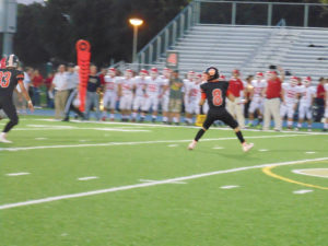 Spencer Miller had four touchdown passes against the Chucks