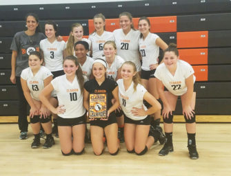 Lady Cat Junior Varsity Wins Clarion Area JV Tournament (09/18/16)
