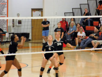Lady Cats Volleyball Team Downs Union, Moves To 21-4 (10/09/16)